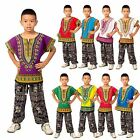 Childs Kids African Traditional Dashiki Tribal Festival Hippie Shirt Top