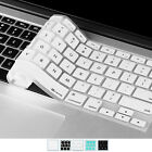 Slim Keyboard Cover Silicone Skin for Macbook Pro 13'' 15'' 17'' and iMac