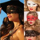 Sexy Chemise Babydoll LINGERIE Embroidered Venice Eye Mask Party Costume Role
