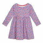 Bluezoo Kids Girls' Multi-Coloured Floral Print Dress From Debenhams