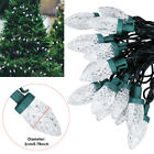6M 30LED White C7 Strawberry Fairy String Light For Christmas Party Outdoor Deco