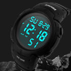 Mens Mockery tease Watch Waterproof Chronograph Unnerve Data Big Face LED Digital Numerals