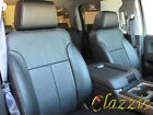 2007-2013 GMC Sierra Clazzio Synthetic Leather Seat Covers Front + Rear Rows