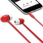iLuv Peppermint Tangle-Free In-Ear Stereo Earphone for Smartphones & Tablets,NEW