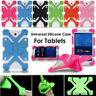 "Us For Various 7 - 8"" Tablet Kids Safe Shockproof Adjustable Silicone Case Cover"
