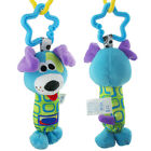 Cute Baby Hanging Toy Multicolor Cartoon Animal Teether Rattle Tinkle Hand Bell