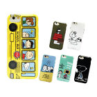 Peanuts Snoopy & Woodstock iPhone 7 soft case cover by Gourmandise Orginal Japan