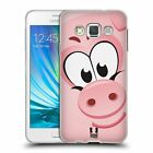 HEAD CASE DESIGNS SQUARE FACE ANIMALS SOFT GEL CASE FOR SAMSUNG GALAXY A3