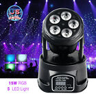 DMX512 RGBWUV LED Moving Head Beam Laser Light Stage Lighting DJ Disco Rainbow