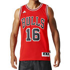 adidas Chicago Bulls Swingman NBA Basketball Jersey #16 Pau Gasol