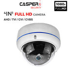 1080P HD TVI AHD CVI ANALOGUE 4IN1 CCTV DOME Camera 3.6mm Wide Angle 20m IR UK