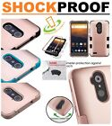 ZTE Zmax Pro Kirk Grand X Max 2 Duo HYBRID Protective Hard Case Cover Rose Gold