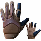 Anti Vibration Gloves Gel Padded Palm Rubber On Fist