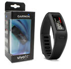 New Garmin Vivofit Activity Tracker 010-01225-00 Black and Gray
