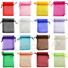 15 Colour 9X12cm Luxury Quality Organza Wedding Jewellery Gift Pouch Favour Bags