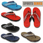 Mens Summer Sports Flip Flops Sandals Pool Beach Shoes Holiday Pool Slippers New