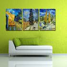 3pcs Modern Print Cityscape Group Home Wall Decor Oil Painting On Art Canvas