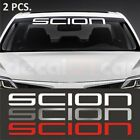 2 pcs. Scion windshield decal sticker