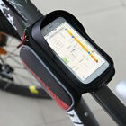 Bicycle Ride Frame Front Head Top Tube Bag Cycling Pannier For 6.0 inch Phone EA