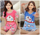 New Cartoon Doraemon Summer Pajama Sets / Sleepcoat / Nightclothes / Sleepwear