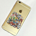 Studio Ghibli Anime iPhone 5s se 6s 7 Plus Case Silicone TPU Soft Free Ship #15