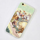 Studio Ghibli Anime iPhone 5s SE 6s 7 Plus Case Silicone TPU Soft Free Ship #48