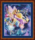 FAIRY MAKER -PDF/PRINTED X STITCH CHART 14/18 COUNT ARTWORK © STEVEN GARDNER