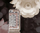 For Mobile Phone Lovely Colorized Diamonds Crystals Bling Gems Hard Cover Case