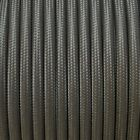 Fabric Lighting Cable Flex In Dark Grey - Available In Round And Twisted