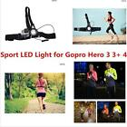 Suptig Sports photohraphy Running LED Light With Mount Strap For GoPro Hero 5 3+