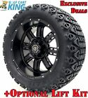 "14"" Madjax Transformer Wheels and X-Trail Tires + GTW Quality Golf Cart Lift Kit"
