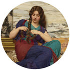 Modern Wall Art European classic palace Lady Oil Painting Picture Print Canvas