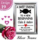 VINTAGE WEDDING SIGN A4 CHALKBOARD STYLE PRINT  SWEET SWEETIE CANDY CART SIGN