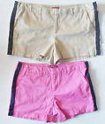 Merona Womens Tuxedo Shorts Brown or Pink Sizes 8, 10, 12 and 16 NWT