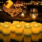 1-288PCS LED Lighted Flickering Votive Style Flameless Candles Holiday Party Dec