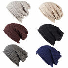 Collection of Knitted Floppy Slouchy Beanie Hats with Crochet Pattern