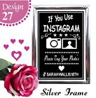 IFYOU INSTAGRAM VINTAGE CHALKBOARD SIGN , 21ST, 30TH 40TH BIRTHDAY PARTY SIGN