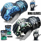 Fever Grappling MMA Gloves UFC Boxing Punch Bag Fight Muay Thai Training Camo