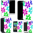 hard durable case cover for iphone & other mobile phones - multi bloom