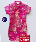 Kids Girl Chinese Traditional QIPAO Costume Tunic Short Sleeve Summer Dress