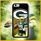 AARON RODGERS GREEN BAY PACKERS PHONE CASE COVER FOR IPHONE X 8 7 6S 6 PLUS 5C 5 $14.99 USD on eBay