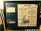 DONALD TRUMP SIGNED / AUTOGRAPHED Bill of Rights Framed C.O.A # 1031340 5 of 5