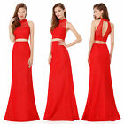 Ever Pretty Women's Red Sexy Halter Long Evening Party Dress 08958