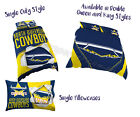 North Queensland Cowboys 2017 NRL Quilt Cover Doona Pillowcase All Sizes