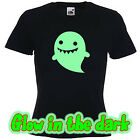 Glow in the dark GHOSTIE HALLOWEEN funny scary t shirt  T shirt