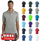 Mens Sport-Tek GOLF POLO Casual Cool Dri Fit Wicking Performance Solid Tee ST640
