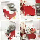 Valentines Gift Box Cardboard Postage Postal Packaging Parcel Small Cup Cube New