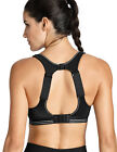 Women's Compression Racerback Adjustable High Impact Running Sports Bra