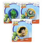 Night Light Plug-in Rotary Shade Toy Story 3 Woody Buzz Rex Girl Boy NEW