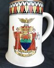 Rare MINT 100yold ADAMS MUG NEW YORK STATE SEAL SENATE MINT tankard/stein s1